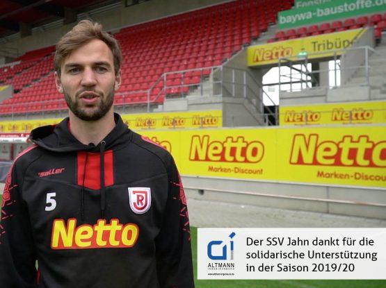 ALTMANN ist Zukunftspartner des SSV Jahn Regensburg